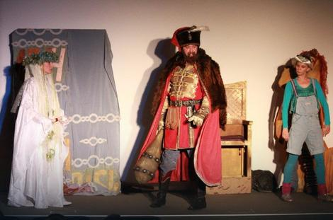 DEČJI KULTURNI CENTAR U ZAGREBU Pred mališanima izvodili predstavu Marko Kraljević od predanja do repovanja