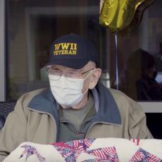 DEKA POBEDIO KORONU I PROSLAVIO 104. ROĐENDAN: Preživeo je i špansku groznicu i Drugi svetski rat! (VIDEO)