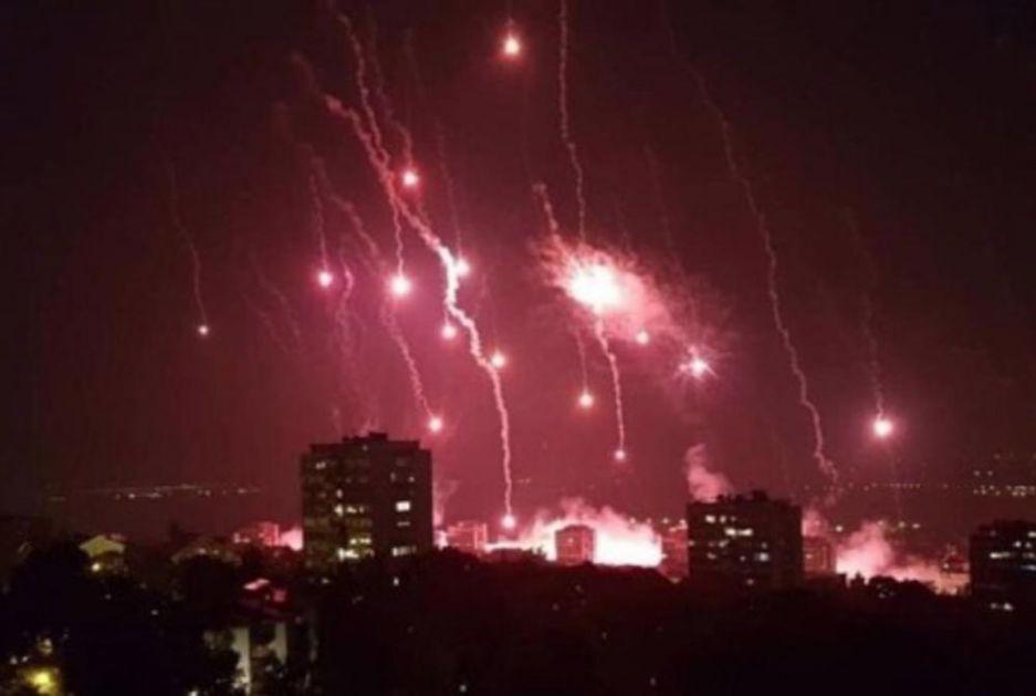 DELIJE ZAPALILE BEOGRAD! Najvatrenije pristalice Zvezde na spektakularan način pozvale navijače na proslavu titule! (KURIR TV)