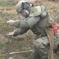 DEMINIRANJE ZAVRŠENO: Pogledajte kako su se ruski inženjeri borili sa ekplozivnim napravama u Karabahu (VIDEO)