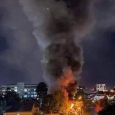 DEMONSTRACIJE U TETOVU! Članovi porodice žrtava požara u kovid bolnici traže ostavke