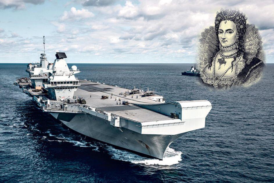 DEMONSTRIRANJE MOĆI SA KRALJICOM ELIZABETOM NA ČELU: Britanci šalju novi nosač aviona ka Kini i Rusiji!