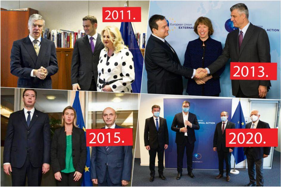 DESET GODINA BRISELSKOG SPORAZUMA: Potpisano 48 sporazuma, Beograd se drži dogovorenog, dok Priština odbija da ispuni potpisano