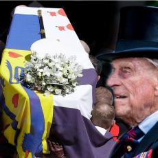 DETALJ KOJI NIKOME NIJE PROMAKAO: Kakvo je značenje zastave sa kovčega princa Filipa? (FOTO/VIDEO)