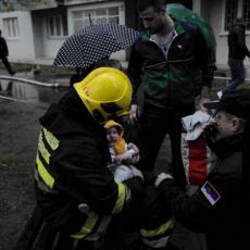 DETE JE BILO MIRNO, SAMO ME JE GLEDALO Oglasio se Stefan, vatrogasac HEROJ koji je spasao bebu iz požara