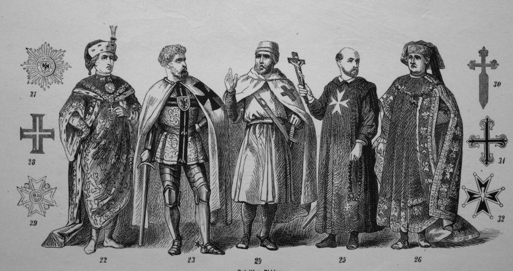 DEŽURNI KRIVCI I GOSPODARI NOVCA: Nema teorije zavere bez TEMPLARA! Evo ko su oni bili