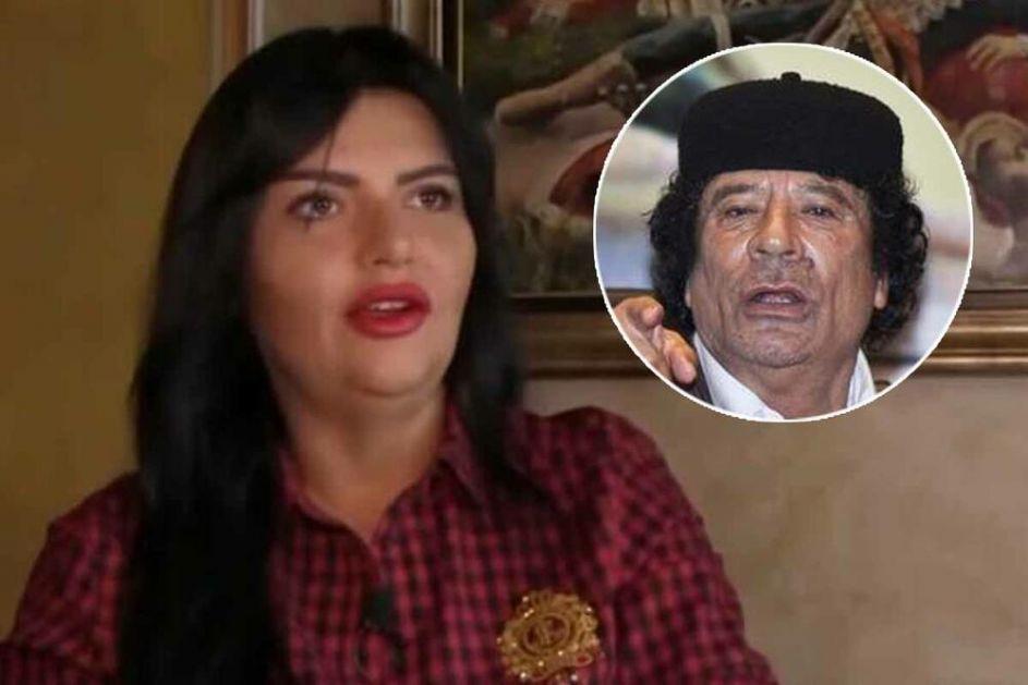 DIJANA JE BILA GADAFIJEVA FRIZERKA: Evo zašto su se devojci iz Bjeljine odsekle noge kada je upoznala libijskog lidera VIDEO