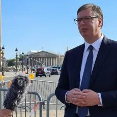 VUČIĆ IZ PARIZA: Spremni smo na razgovore, ne prihvatamo ultimatum! Ne okupljajte se zbog sopstvenog zdravlja