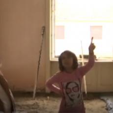 DIVAN GEST! Novosadske umetnice poklonile stan devojčici koja uči uz sveću