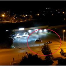 DIVLJANJE U VRANJU: Bahati vozač noćima ne da mira građanima (VIDEO)