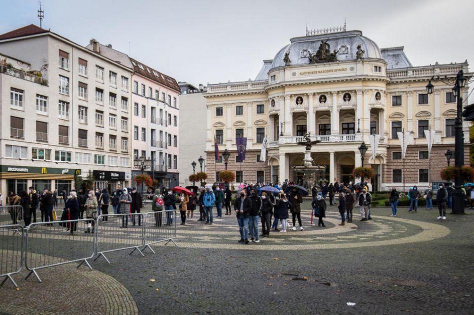 DO 19.MARTA: Slovačka uvodi policijski čas! Vlada saopštila mere, ko odbije slede kazne