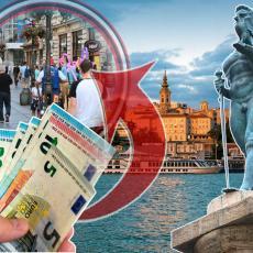 DO KRAJA GODINE PADAJU PARICE SVAKOG MESECA: Penzionerima od države 240 evra, radnicima po TRI hiljade više, plus 50 evra