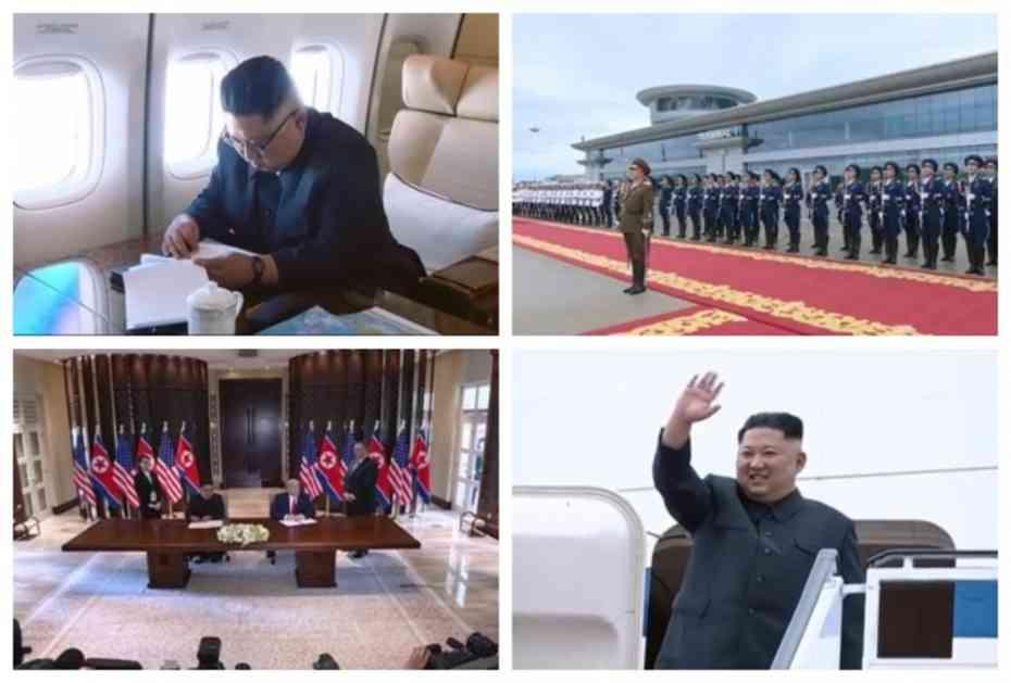 DO SADA NEOBJAVLJENI SNIMCI: Severnokorejci napravili ceo film o Kimovom putu u Singapur, pogledajte kako su ispratili velikog vođu! (VIDEO)