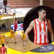 DOBRIĆ - KAO BRZI VOZ: Vidite superveleslalom i NBA kucanje sa DVE ruke Zvezdinog beka (VIDEO)