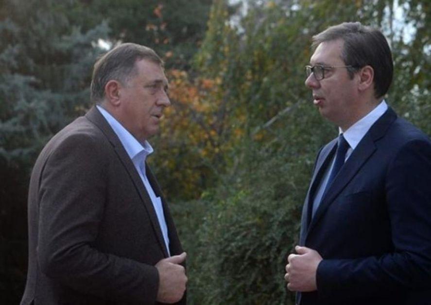 DODIK: Banjaluka će uvek podržavati Vučića, a ne Izetbegovića (VIDEO)