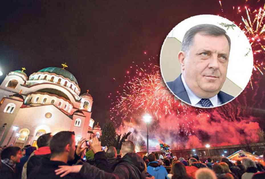 DODIK ČESTITAO SRPSKU NOVU GODINU: Neka vam 2018. donese napredak, ličnu i porodičnu sreću!