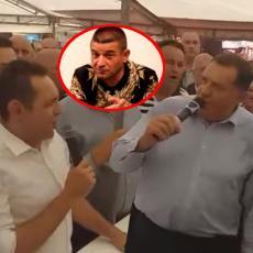 Dodik i Vulin zapevali hitove Baje Malog Knindže na Manjači (VIDEO)
