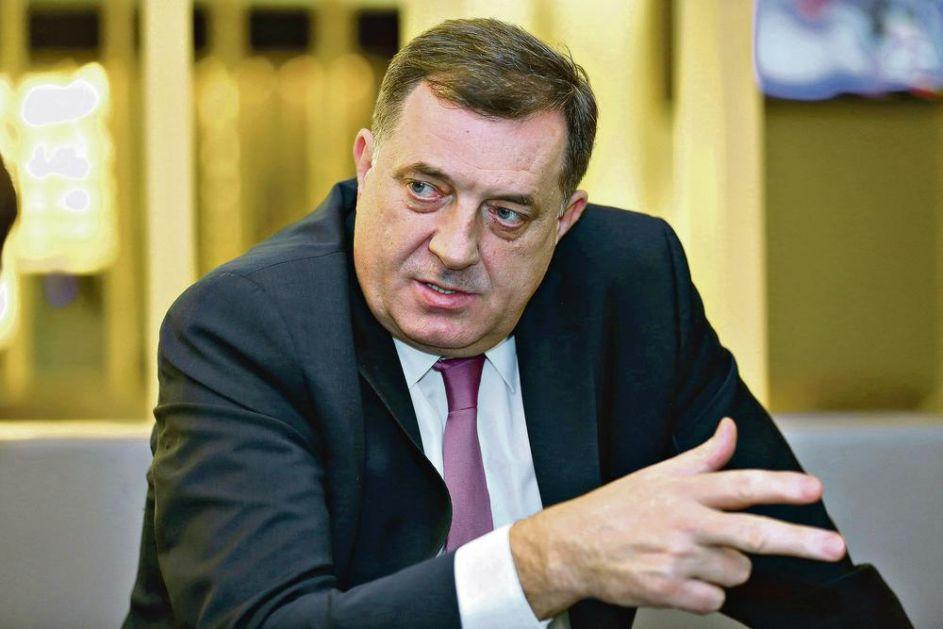 DODIK PORUČIO PRED SASTANAK SA VUČIĆEM: Srbija da garantuje postojanje Republike Srpske i tako pokažemo da su pretnje Izetbegovića prazne priče