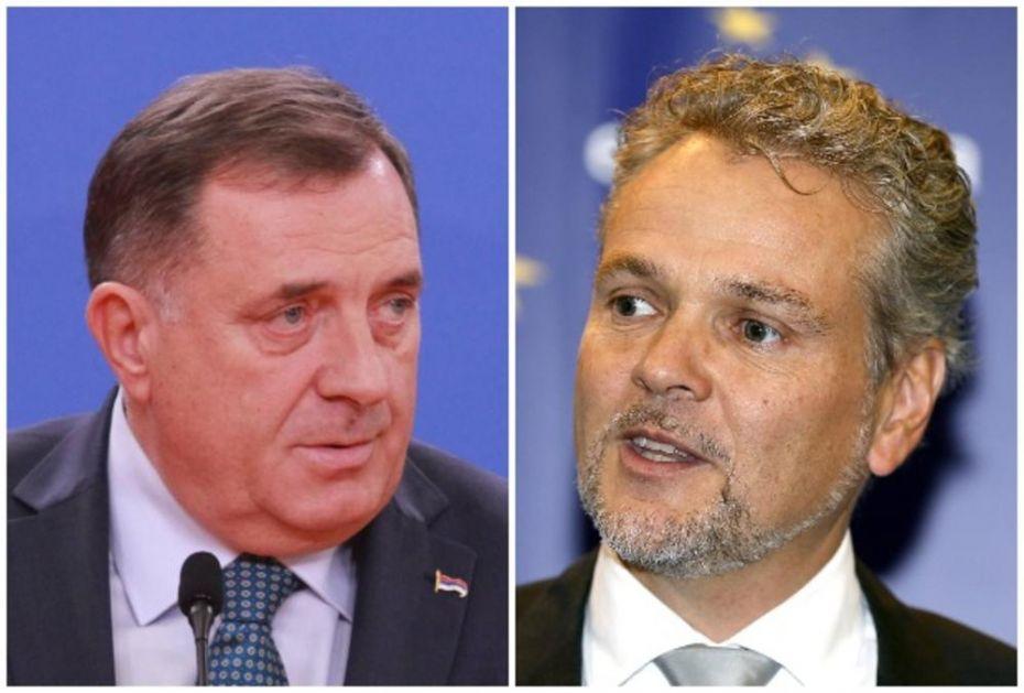 DODIK SA SALTEROM: Što pre formirati Savet ministra bez ucena članstvom u NATO!