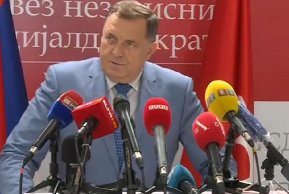 DODIK: Srpska ne želi u NATO a bez naše saglasnosti ne može u tom smeru da ide ni BiH!