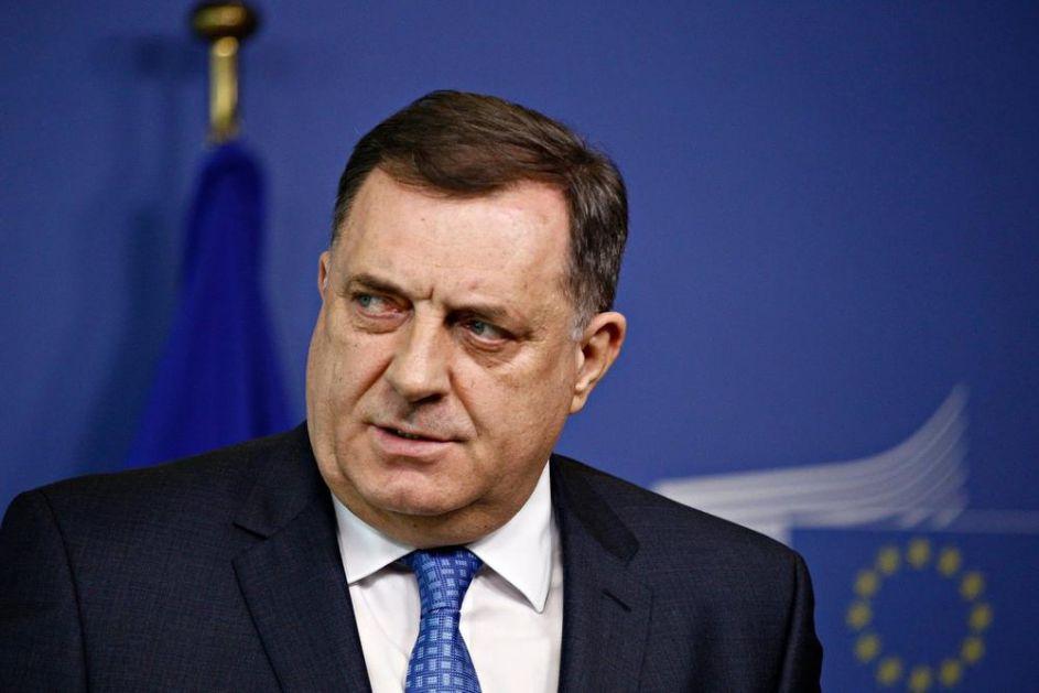 DODIK: Sve dok se pita SNSD, BiH neće u NATO