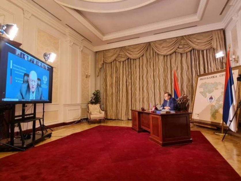 DODIK U OBRAĆANJU SAVETU BEZBEDNOSTI UN: Srpska i pola Federacije BiH želi da Incko ode!
