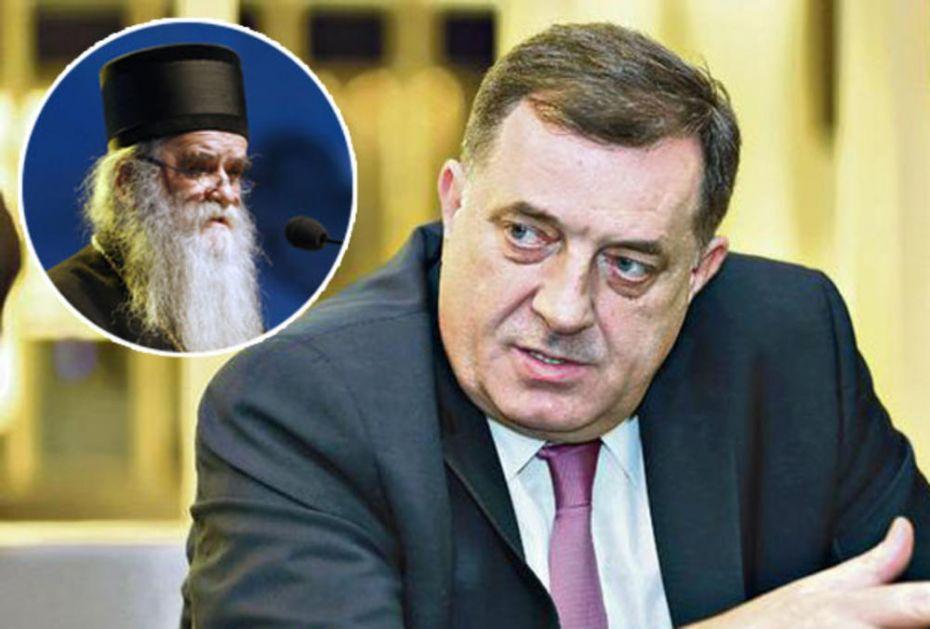 DODIK UPUTIO SAUČEŠĆE POVODOM SMRTI AMFILOHIJA: Ne tuguje samo Crna Gora, mitropolit obezbedio mesto među velikanima pravoslavlja