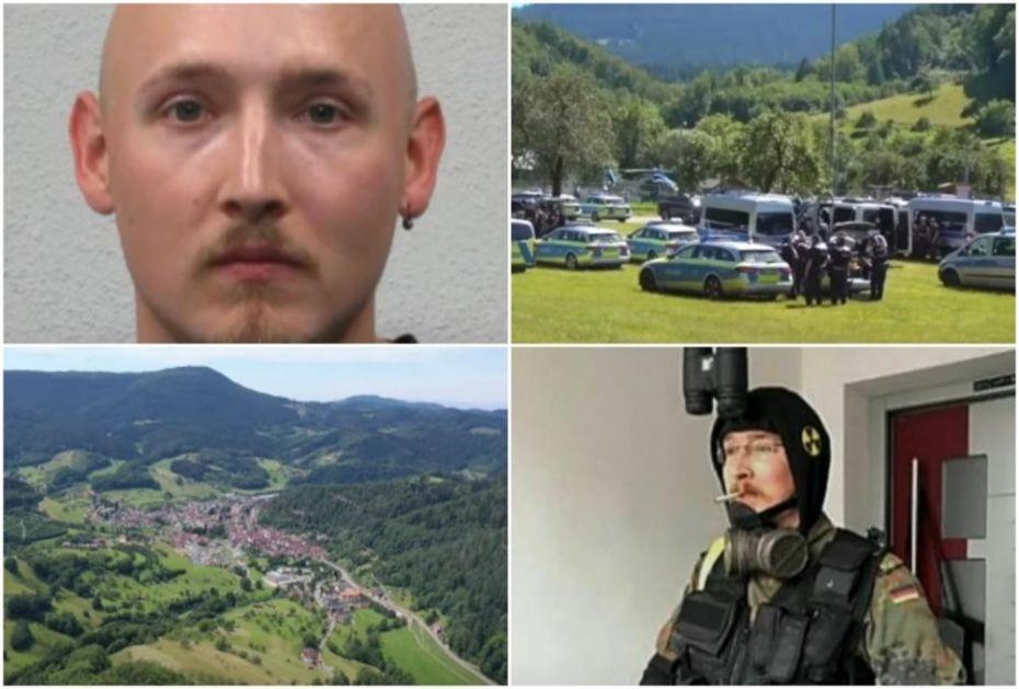 DOLIJAO NEMAČKI RAMBO: Više od 2.400 policajaca ga tražilo 5 dana u šumi, evo kako su ga našli (VIDEO)