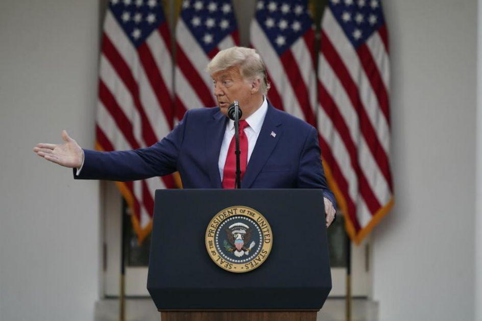 DONALD TRAMP PORUČIO: Napuštam Belu kuću ako elektori potvrde izbor Bajdena za novog predsednika SAD