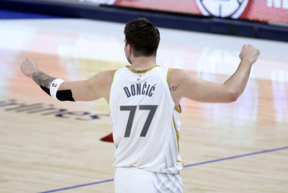 DONČIĆ NASTAVLJA DA RUŠI GRANICE: Luka još jednom ušao u NBA anale VIDEO