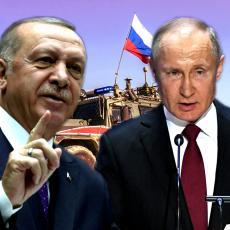 DOSTA IM JE ERDOGANOVOG LUDILA! Rusi neće TRPETI BEZOBRAZLUK, jedan na jedan sa Asadom je NEPRIHVATLJIVO
