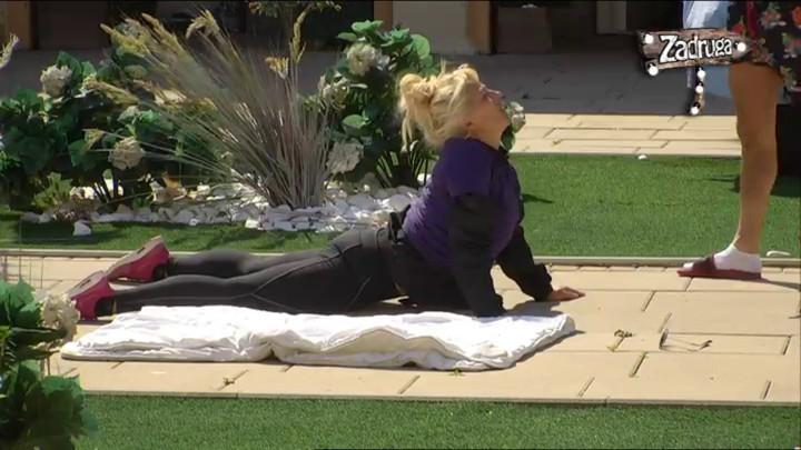 DOVEO JE DO TAČKE PUCANJA! David pomagao Suzani da trenira, ona nije očekivala da će OVO MORATI DA RADI! (VIDEO)