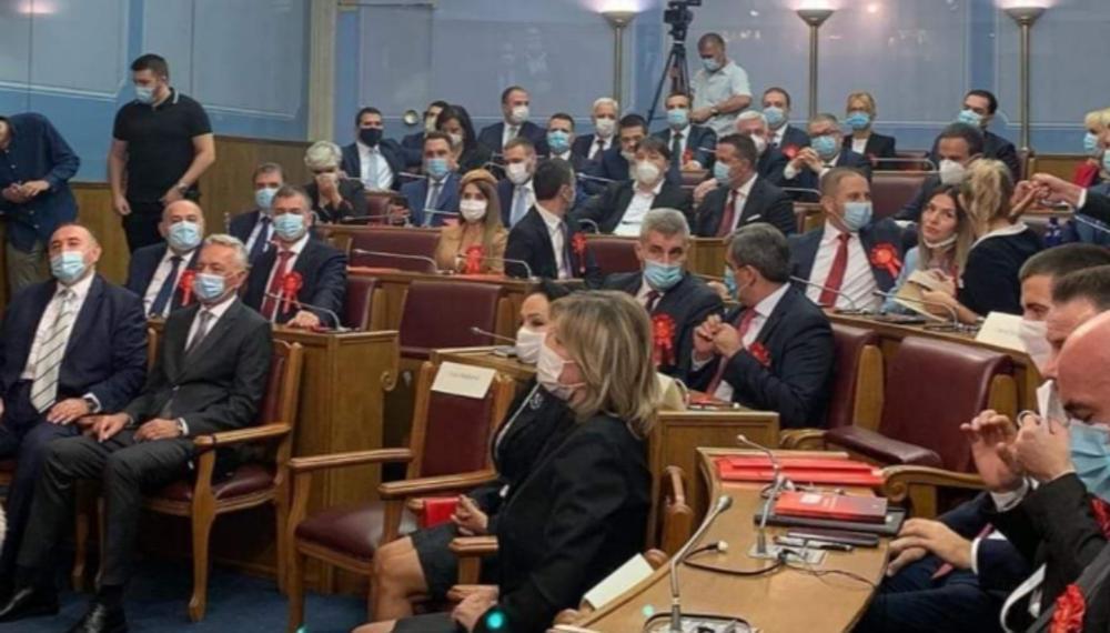 DPS NAPUSTIO SKUPŠTINU CRNE GORE Bojkotuju zasedanja i rad odbora i poručuju da nisu samo dekor