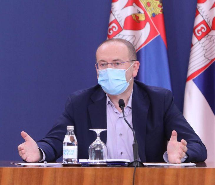 DR GOJKOVIĆ: Ne želimo slike iz Evrope, gde se čak i uz policijski čas, situacija otima kontroli! DANAS O NOVIM MERAMA DANAS
