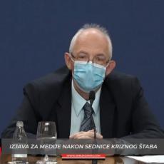 DR KON OBJAVIO ALARMANTNE PODATKE: Veliki broj zdravstvenih radika zaražen, na lečenju njih 66