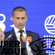 DRAKONSKA KAZNA ČEKA POBUNJENIKE: UEFA najavila teške POSLEDICE za klubove koji OSTANU u Superligi!