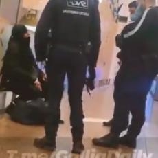DRAMA U LIONU: Žena vikala Alahu akbar i pretila bombom, železnička stanica evakuisana (VIDEO)