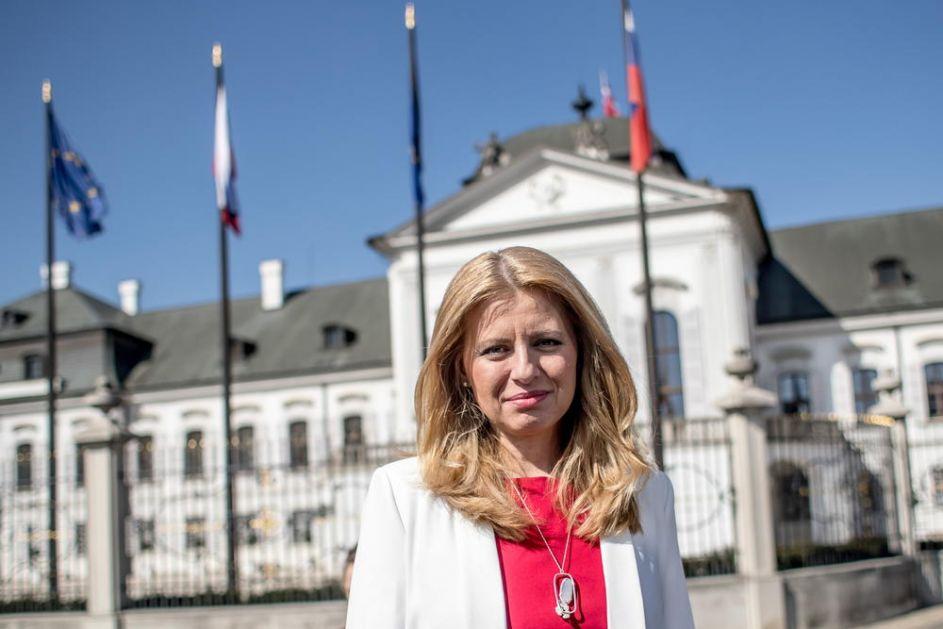DRAMA U SLOVAČKOJ: Dojava o bombi ispred kuće predsednice Čaputove!
