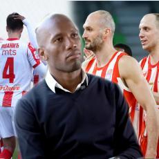 DROGBA SE SETIO ZVEZDE! Pričao o fudbalerima srpskog kluba, ali KOŠARKAŠI mu na objavi - GENIJALNO (FOTO)