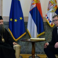 VLADA ĆE POMOĆI OKONČANJU GRADNJE HRAMA Vučić: Ako crkva i država ne sarađuju Srbija je laka meta