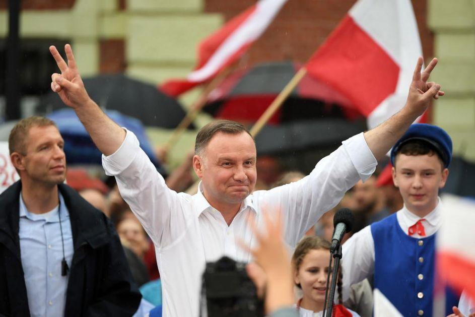 DUDA OSVOJIO PREDSEDNIČKE IZBORE U POLJSKOJ: Dobio drugi mandat, imao je 500.000 glasova više od svog rivala