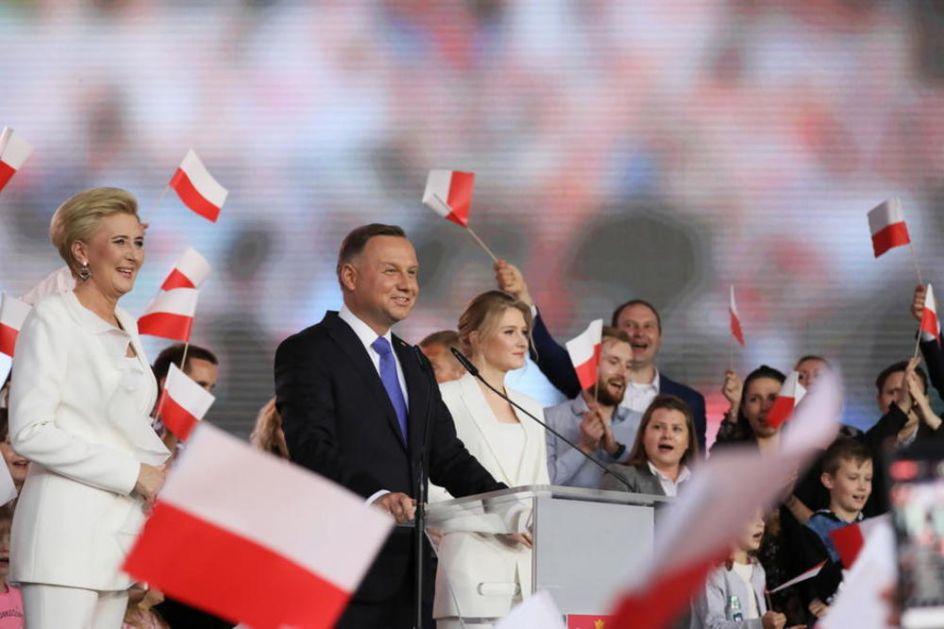 DUDA U TESNOJ PREDNOSTI ZA NOVI PREDSEDNIČKI MANDAT: Poljaci birali predsednika u 2. krugu!