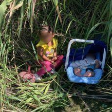 DVOJE NAPUŠTENIH MALIŠANA PRONAĐENO U ŠUMI: Ispod nosiljke za bebe policajci otkrili poruku (FOTO)