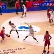 DŽEJMS POSEKAO ŠUMU! CSKA neverovatnom trojkom u poslednjoj sekudni produžio agoniju Žalgirisa! (VIDEO)