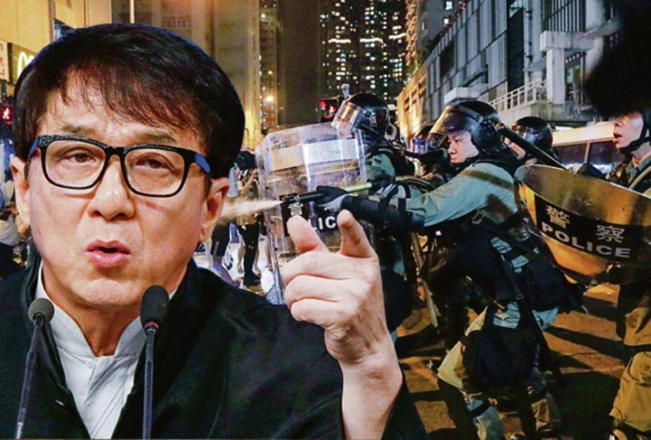 DŽEKI ČEN U NOVOJ AKCIJI! ZAVODI MIR U HONGKONGU! Slavni glumac apelovao na demonstrante da okončaju nasilne proteste