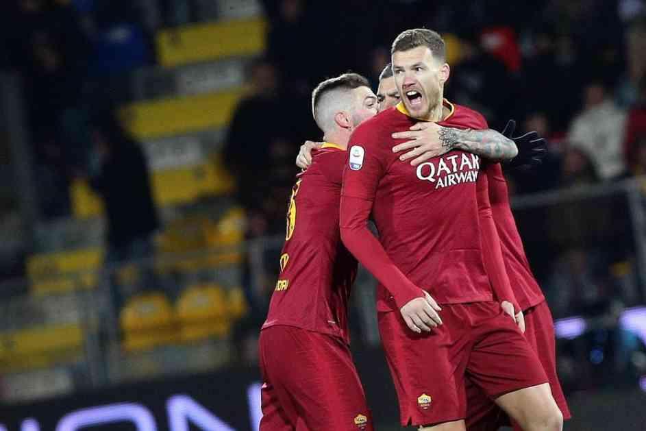 DŽEKO JE HEROJ ROME: Bosanac dao gol u 95. minutu za pobedu protiv Frozinonea (VIDEO)