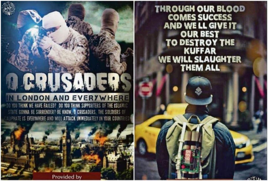DŽIHADISTI PONOVO PRETE ZAPADU: Goreće Vestminster, razorićemo Njujork, pobićemo ih sve!
