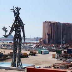 DŽIN OD PEPELA U Bejrutu otkrivena skulptura u znak počasti žrtvama eksplozije - OBELEŽAVANJE GODIŠNJICE (VIDEO)