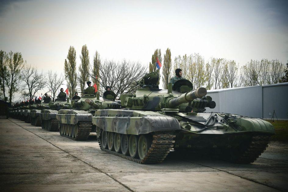 Da li je Srbija treća zemlja po broju tenkova u Evropi?