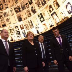 Da se ZLOČINI NE PONOVE: Merkel u poseti memorijalnom centru Jad Vašem (FOTO)